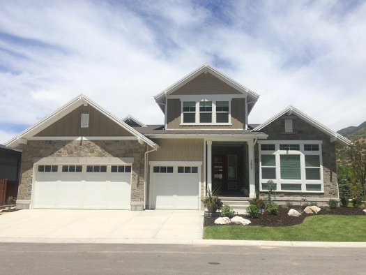 garbett construction built this 5211 square foot production home in salt lake - House Construction Program