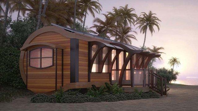off grid tiny house gets smart energy storage proud green home. Black Bedroom Furniture Sets. Home Design Ideas