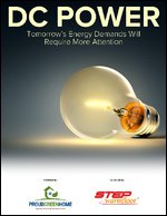 DC Power: Tomorrow's Energy Demands Will Require More Attention