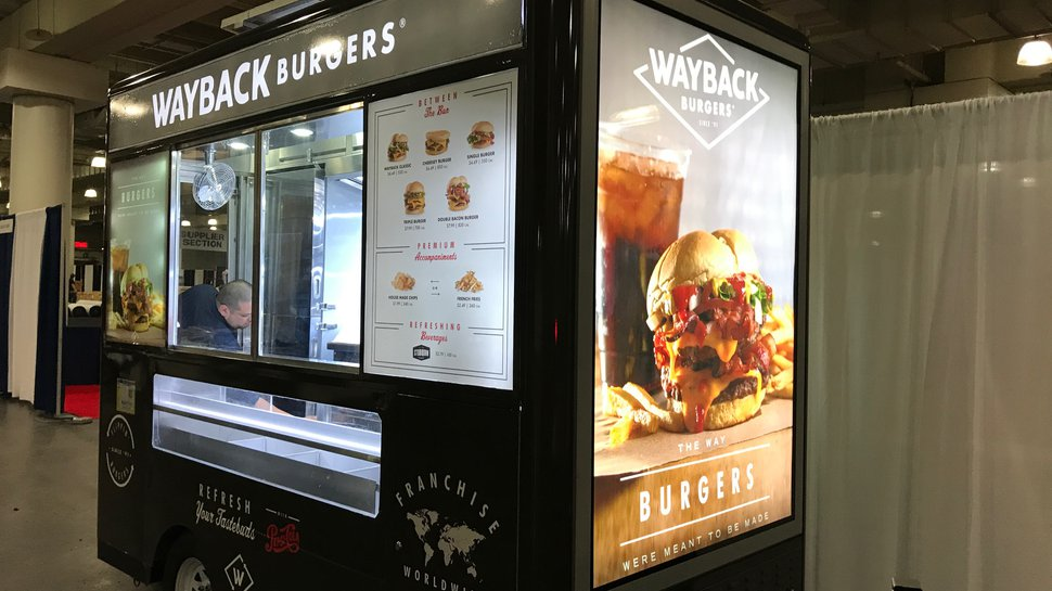 Wayback Burgers to test food trailers in the Big Apple