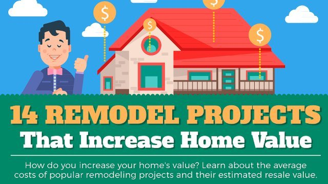 14 Best remodeling and home improvement ideas to increase home value