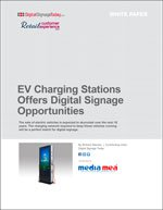 EV Charging Stations Offers Digital Signage Opportunities