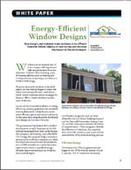 Energy-Efficient Window Designs