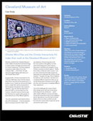 Christie Digital Case Study: Cleveland Museum of Art