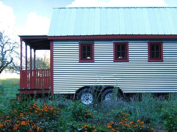 tiny house from the tumbleweed tiny house co