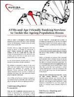 ATMs and Age Friendly Banking Services to Tackle the Ageing Population Boom