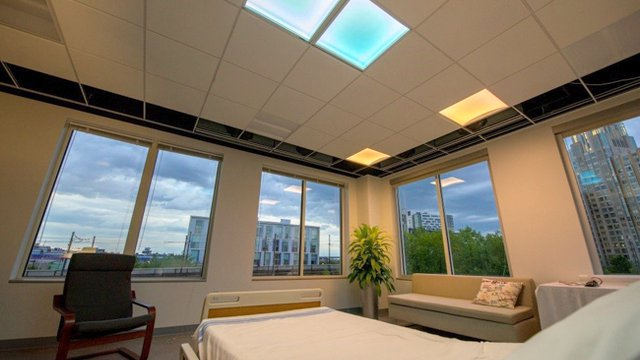Tunable LED patient-room lighting offers energy efficiency, more