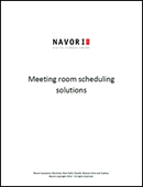Meeting Room Scheduling Solutions | Navori Labs Digital Signage Engine