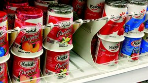 Boost yogurt sales, save on labor and shrink, with innovative new yougurt merchandiser