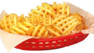 The company's Yukon Gold Waffle Fries are available December through February. Prices for the Yukon Gold fries are slightly higher than another seasonal item, Sweet Potato Fries, and range from $1.69 for a small to $5.89 for a large.