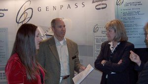 Genpass had a busy show.