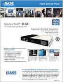 Signature Book™ SI-64 Digital Signage Player