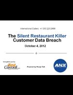 Webinar: The Silent Restaurant Killer -- Customer Data Breach