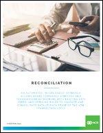 NCR Reconciliation