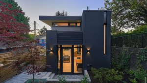 A spacious laneway house designed by Iredale Architecture and built by Kliewer Brothers Construction near the Kitsilano neighborhood.