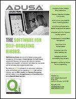 The Software for Self-Ordering Kiosks