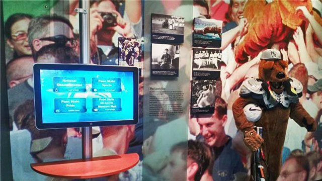 How Penn State museum tackled customer engagement with kiosks