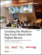 Creating the Modern- Day Farm Stand with Digital Menus