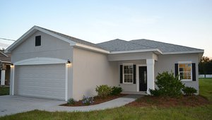 Sunroc Builders constructed this 1,407-square-foot home in Lakeland, Florida, to the performance criteria of the DOE Zero Energy Ready Home (ZERH) program.