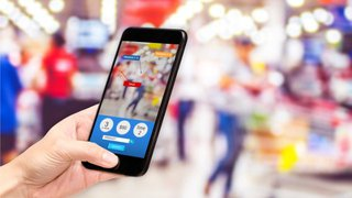 What is AR's role in retail mobile apps going forward?