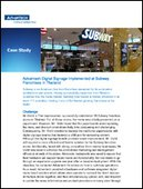 Advantech Digital Signage Implemented at Subway Franchises in Thailand