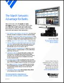 The March Networks Advantage for Banks