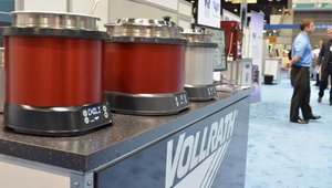 The Vollrath Company- Mirage Induction Soup Rethermalizer is an intelligent, countertop unit that uses induction heating instead of water to quickly rethermalize and maintain optimal temperature for foods like soup, chili, and macaroni and cheese.