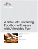 A Safe Bet: Preventing Foodborne Illnesses with Affordable Tech