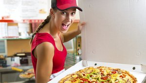 Pizza commodities: Costlier to create, but cheaper to deliver