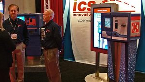 Innovative Control Systems featured a range of products, from car-wash kiosks to outdoor signs.