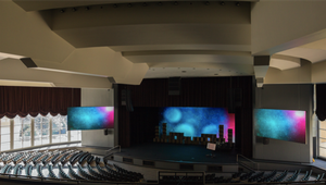 LED displays enlighten church congregation
