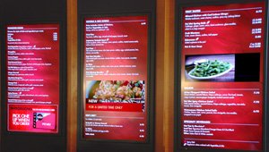 The Mies van der Rohe approach and other restaurant digital signage trends
