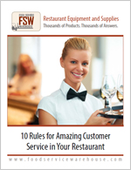 10 Rules for Amazing Customer Service in Your Restaurant