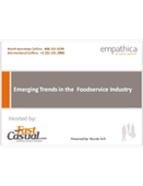 Webinar:  Emerging Trends in Foodservice
