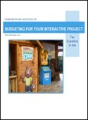 Budgeting for your interactive project
