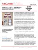 Kiosks enroll on more campuses