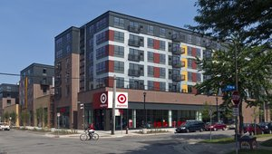 <p>This past weekend, Target debuted its new store format, TargetExpress, which the company said is its smallest-footprint store to date.</p>