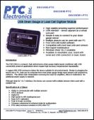 Kiosk USB Strain Gauge or Load Cell Digitizer Module