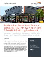 Piada Italian Street Food Protects Uptime & POS Data With All-in-One SD-WAN Solution by Cradlepoint