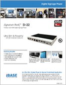 Signature Book™ SI-22 Digital Signage Player