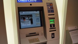 CINEO C2070 ATM cassettes can be interchanged with those of other machines in the Cash Cycle Management portfolio for a secure, closed cash-handling system.