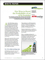 Five Ways to Boost the Profitability of an ATM Portfolio