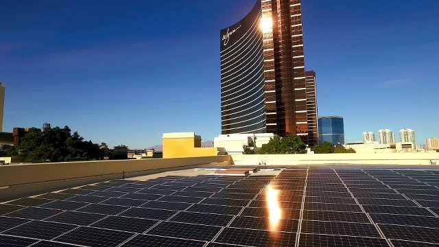 Wynn casino bets on a sure thing: solar power