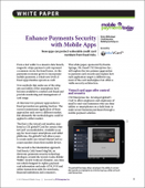 Enhance Payments Security with Mobile Apps