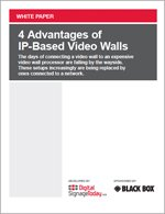 4 Advantages of IP-Based Video Walls