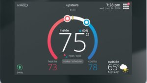 Smart thermostat detects outdoors allergens for better indoor air quality