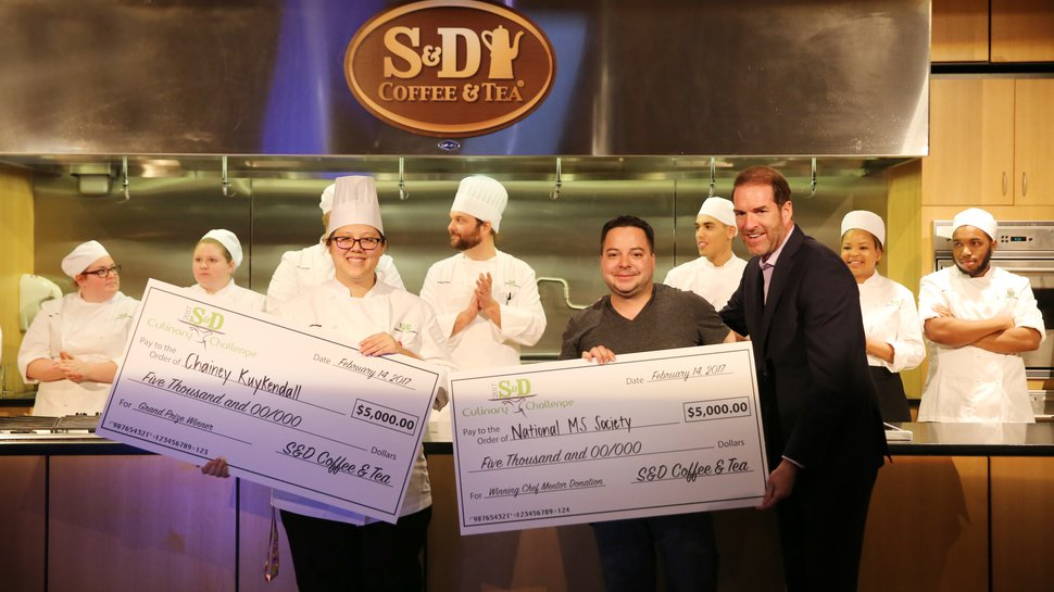 Food truck owners mentor students for 'Food Truck Frenzy,' S&D Coffee & Tea's Culinary Challenge