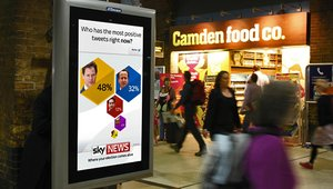Digital signage brings real-time opinion polling to UK election