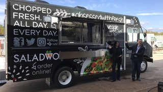 Saladworks relies on food truck to drive sales while stores close for remodeling