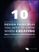 10 Design Principles you Need to Know when Creating Multi-Touch Experiences
